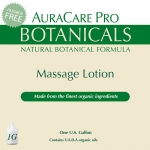 AuraCare Pro Botanicals Massage Lotion - 1 Gallon