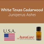 Cedarwood, White Texas - Juniperus Ashei
