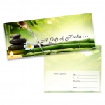 Bamboo Falls Gift Certificate (25-Pack)