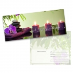 Tranquil Orchid Gift Certificate (25-Pack)