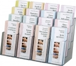 1,600 Massage Brochures & 16-Unit Display Rack Special