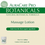 AuraCare Pro Botanicals Massage Lotion - 5 Gallon Pail